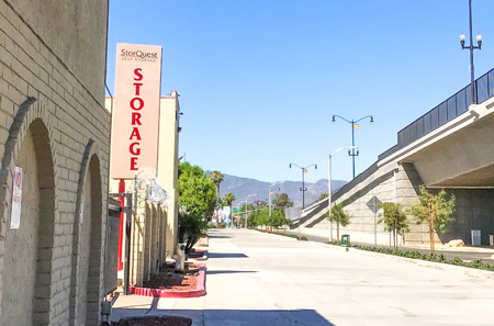 Exterior Sign at StorQuest Self Storage in Riverside, CA