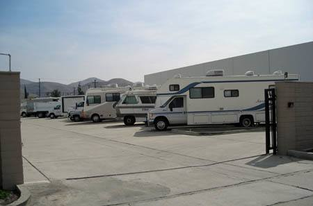 RV Storage at StorQuest RV/Boat and Self Storage in Riverside, CA