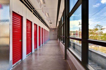 Los Angeles self storage exterior units