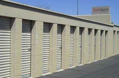 Phoenix exterior self storage units