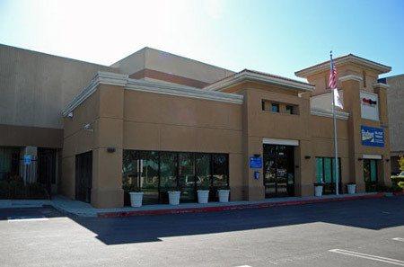 Self storage building exterior in Carson