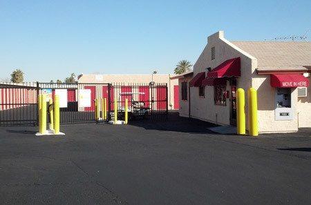 Phoenix self storage front gate