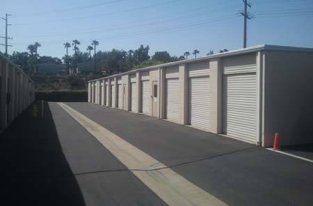 Exterior for self storage units in Temecula