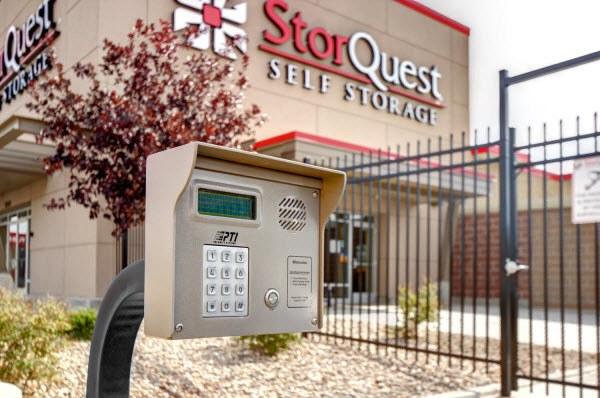 Secure Gate at StorQuest Self Storage in Denver, CO