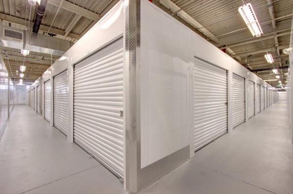 Interior hallway for self storage units in Denver