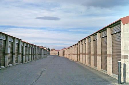 Exterior for self storage units in Aurora