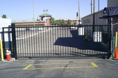Gated storage facility in El Paso