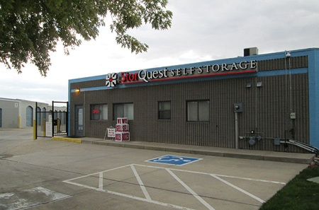 Self storage unit office in Lafayette, CO