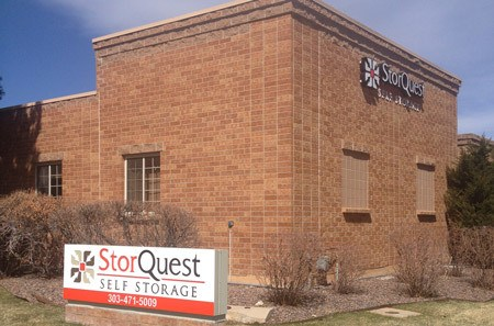 Highlands Ranch self storage facility exterior