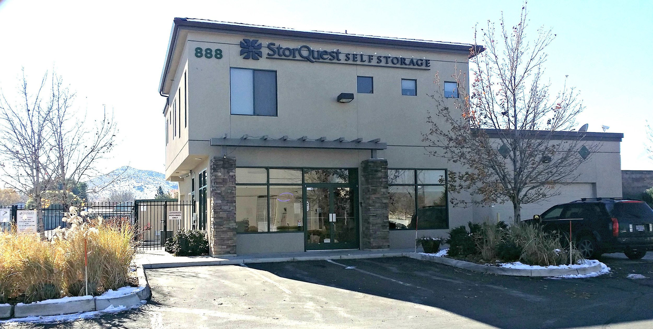 Reno self storage facility