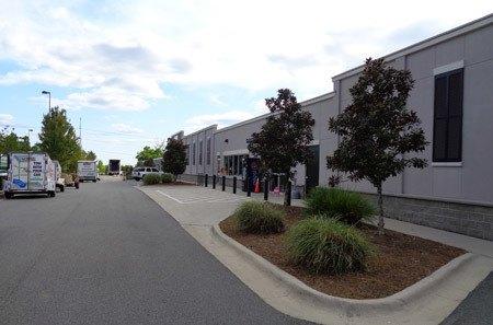 Tallahassee self storage facility entrance