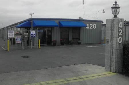 Los Banos self storage facility office