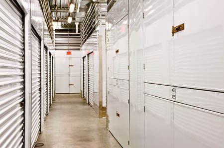 Hallway at StorQuest Self Storage