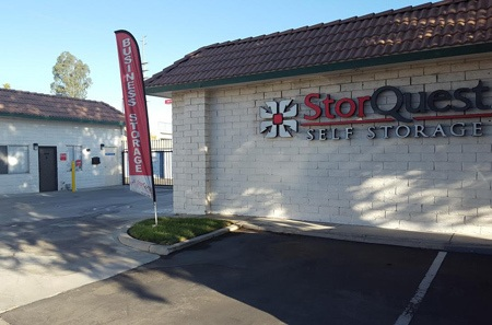 Entrance to StorQuest Self Storage