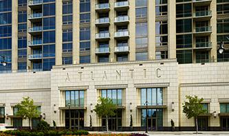 Exterior Of Luxury Apartments In Atlanta Georgia