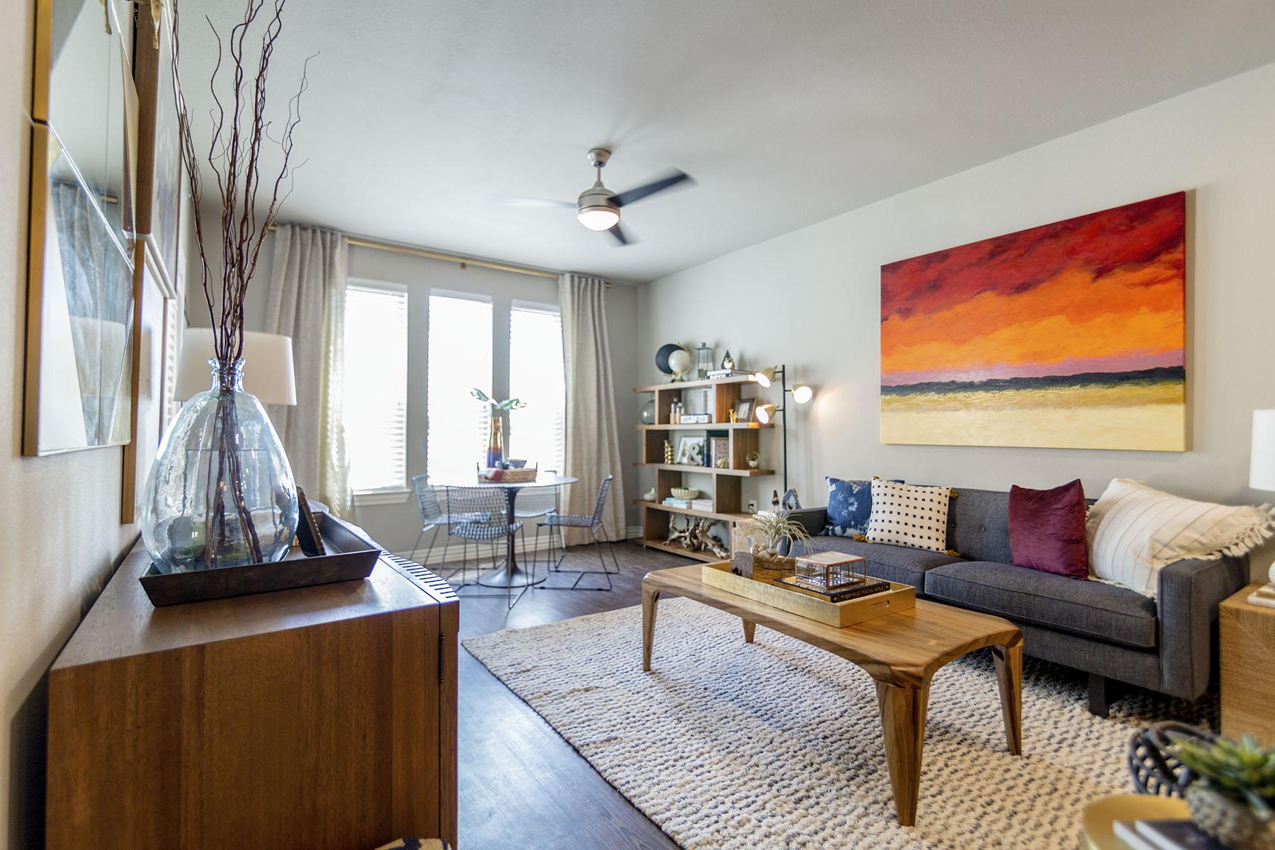 Open floor plans in Plano, Plano, apartments