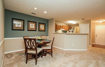 Enjoy spacious open floor plans in our Lawrenceville apartments