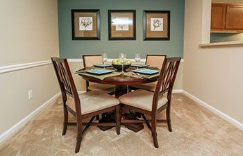 Our Lawrenceville apartments feature dining rooms perfect for entertaining