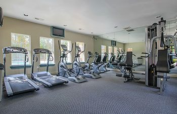 Enjoy access to a state of the art fitness center at our Lawrenceville apartment community