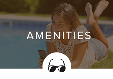 Amenities offered at our apartments in Tucker