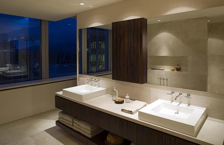 Bathroom in our luxury apartments for rent in Denver, CO.