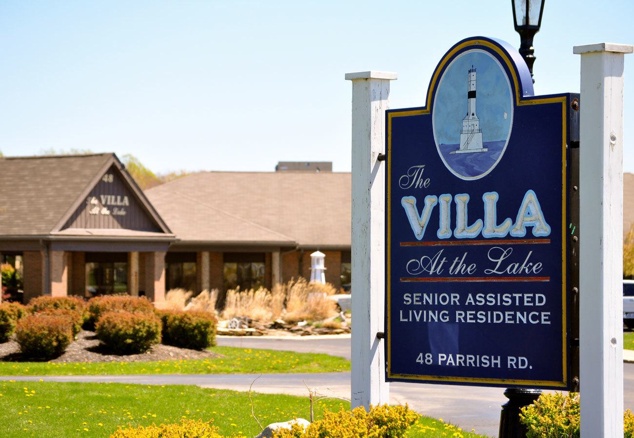Our beautiful assisted living community in Conneaut, OH