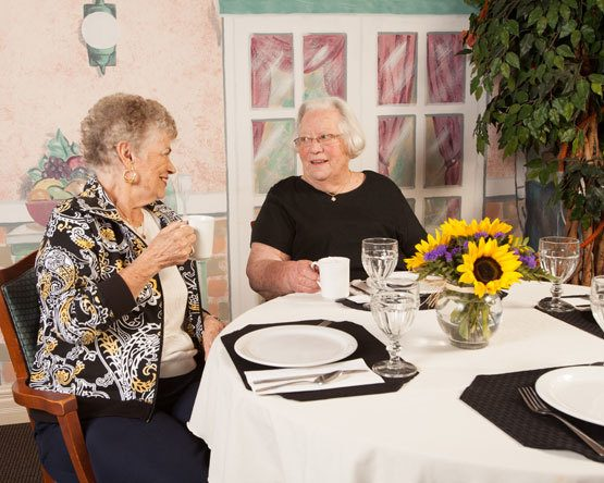 Excellent dining options offered at our assisted living and respite care home in Lawton, MI.