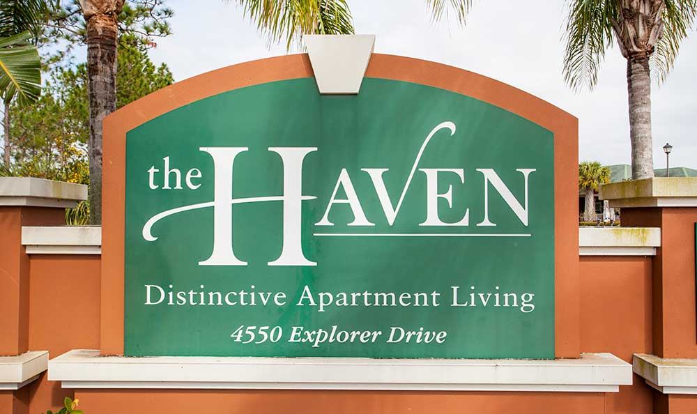 The Haven at West Melbourne's iconic sign!