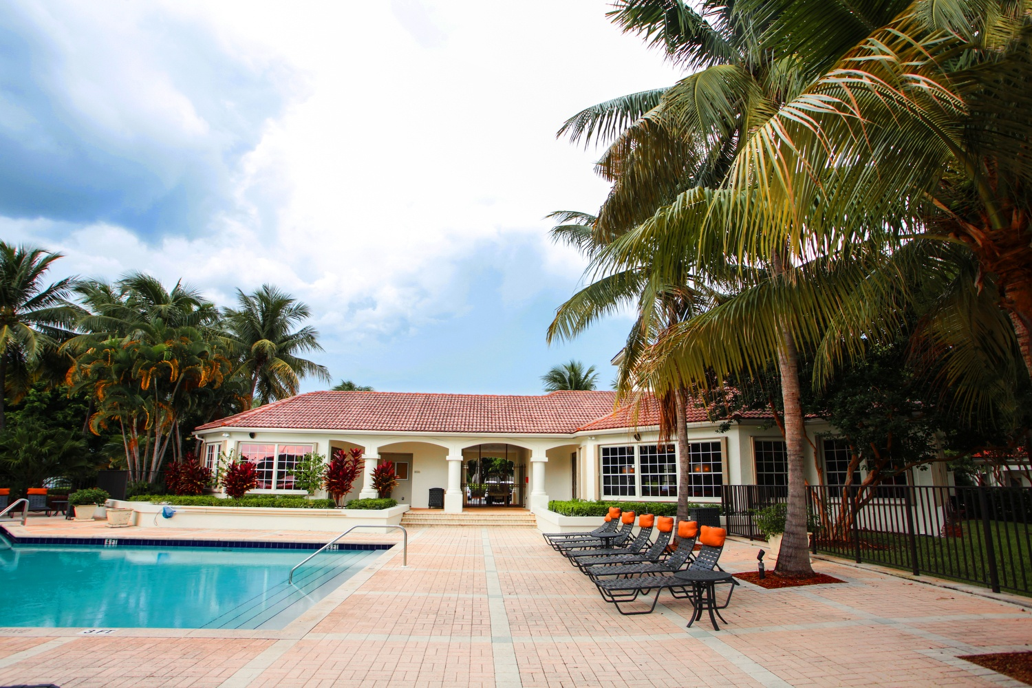 Take a sip in our Delray Beach swimming pool.