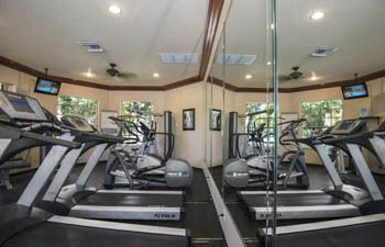 Keep fit in our well equipped fitness center in Delray Beach, Florida.