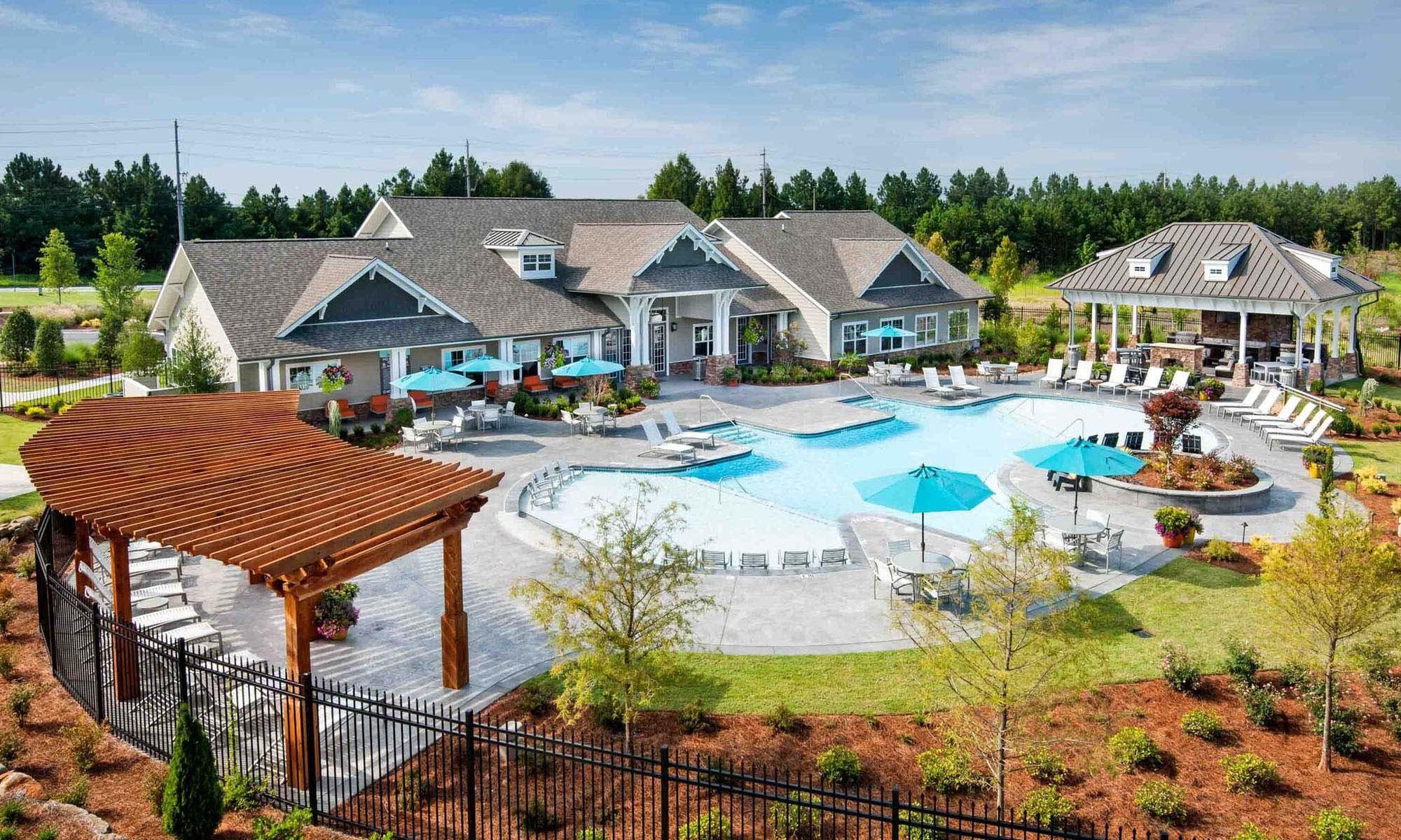 Pool at Meridian at Redwine Atlanta, GA