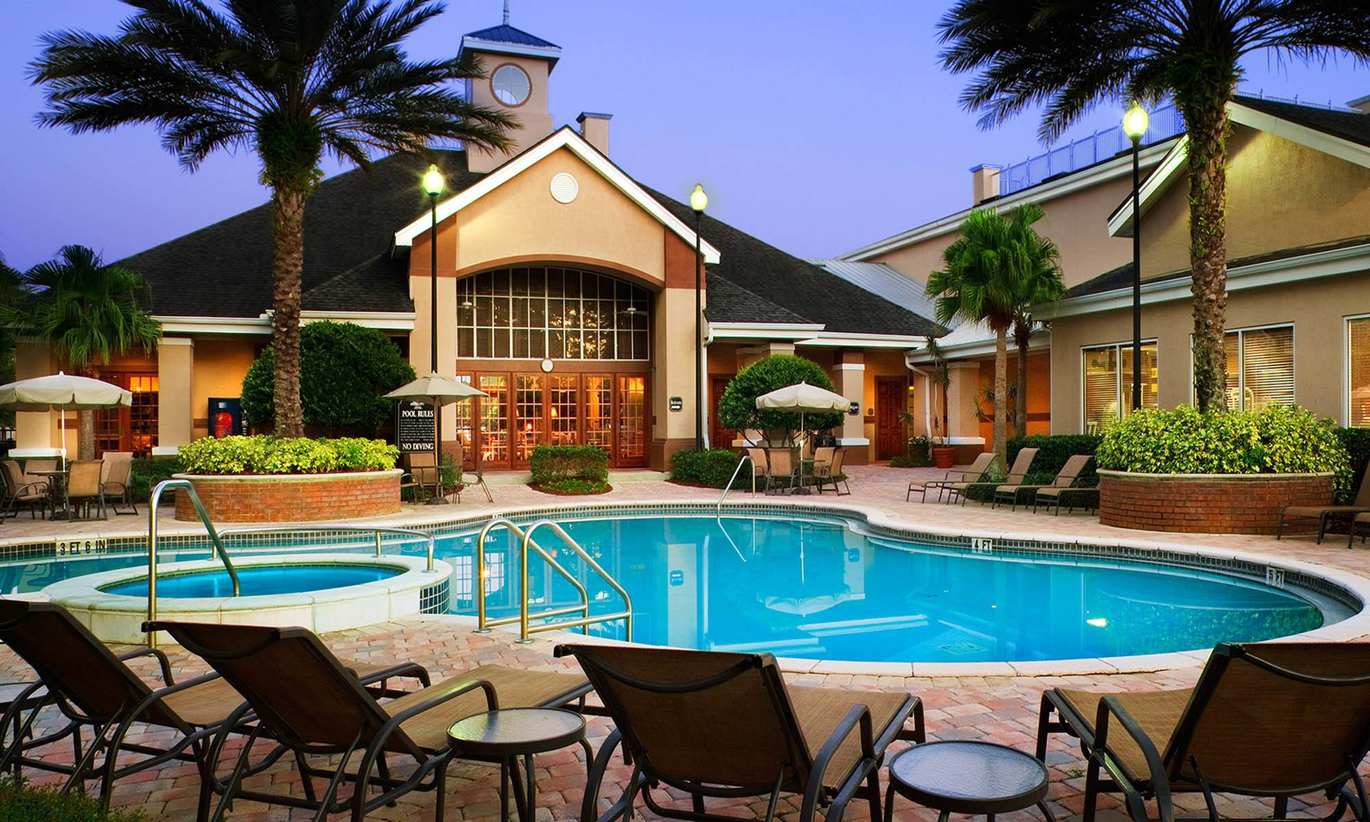 Beautiful pool at our Tampa FL, Apartments