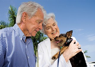 Pet friendly at the senior living facility in Rainbow City