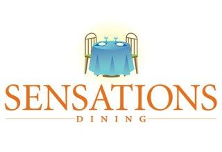 Sensations dining logo for the senior living community in Rainbow City