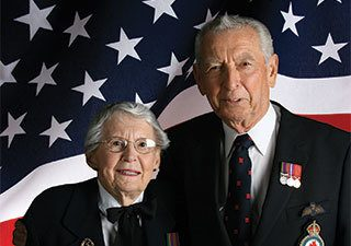 Veterans at the senior living facility in Rainbow City