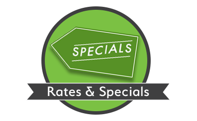Rates and specials at Space Shop Self Storage in Roswell