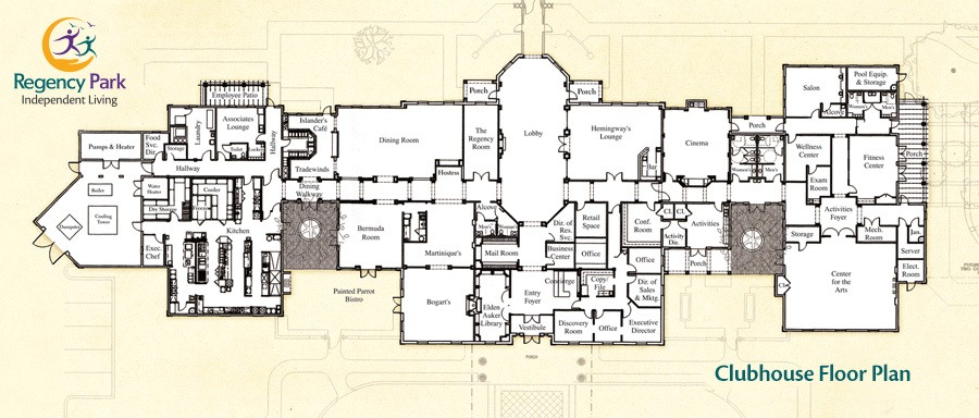 Clubhouse Site Plans