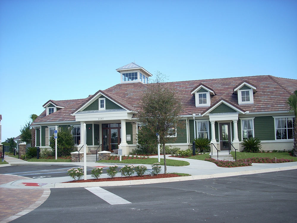 Exterior of rental office at Highlands Viera West