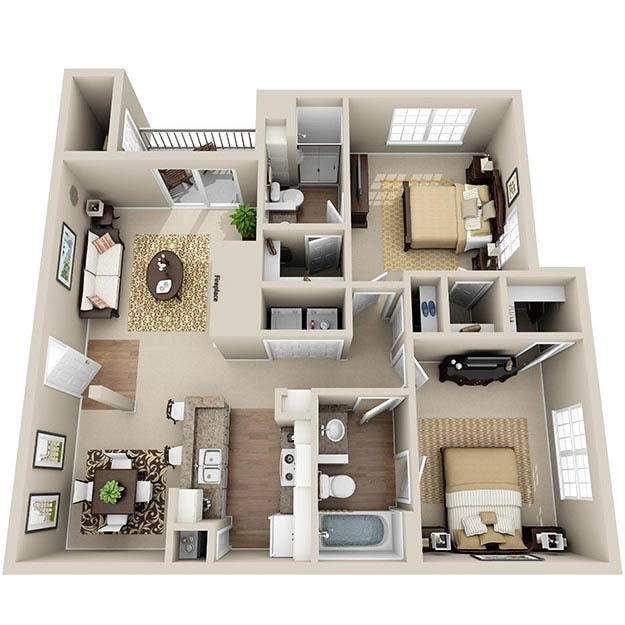 Luxury 1 2 3 Bedroom Apartments In Overland Park KS