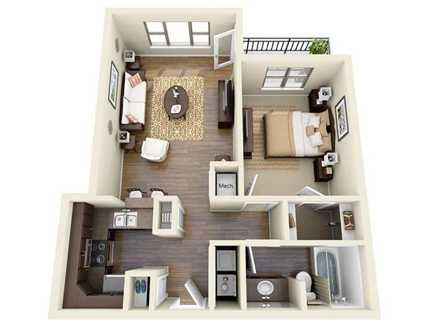 affordable    bedroom apartments in atlanta, ga, Bedroom designs