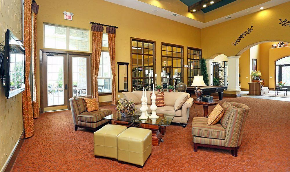 Modern Clubhouse at Sorrento at Tuscan Lakes