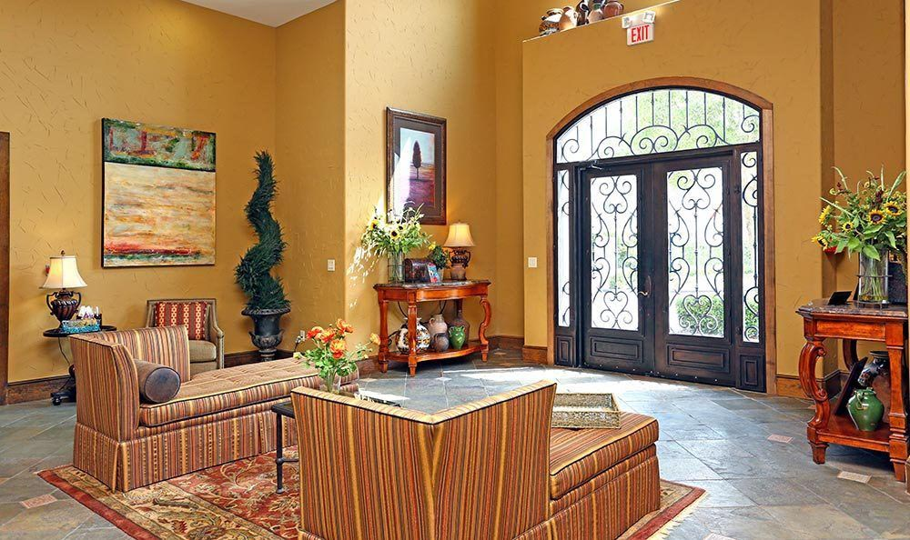 Lobby at Sorrento at Tuscan Lakes