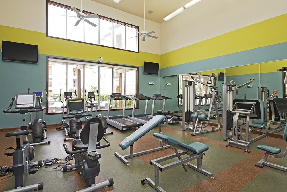 State of the art fitness facility at Amalfi at Tuscan Lakes