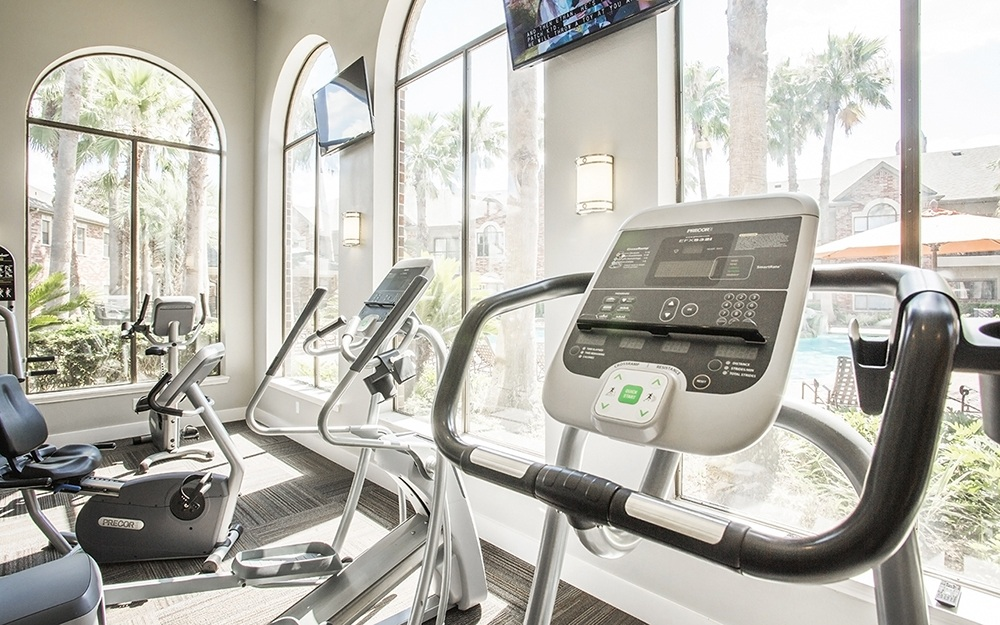 State of the art fitness center at Elle at The Medical Center