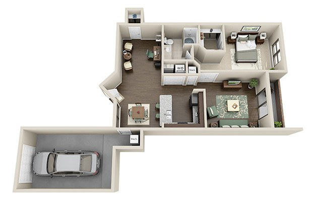 Choose Floor Plan. Palais. View. 1 Bedroom