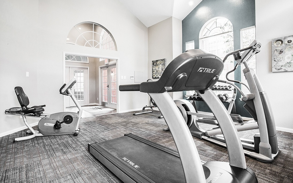 State-of-the-Art Fitness center at Plaza at The Medical Center