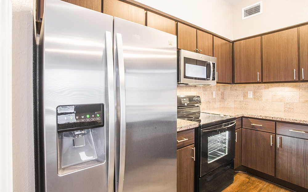 Updated kitchens at Plaza at The Medical Center