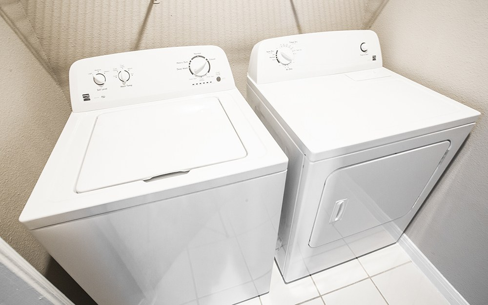 Full sized washer and dryer in Plaza at The Medical Center town homes
