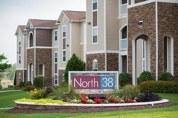 North 38 Apartments Signage Home Gallery in Harrisonburg, VA