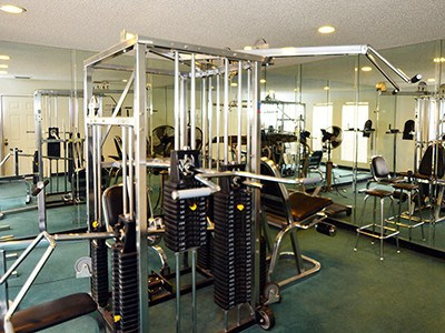 Our fitness center is fully stocked with all the equipment you'll need to get - and stay - fit at our luxury community in Midland